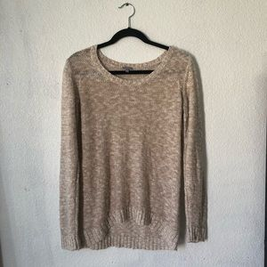 A light weight knit sweater from Charlotte Russe.